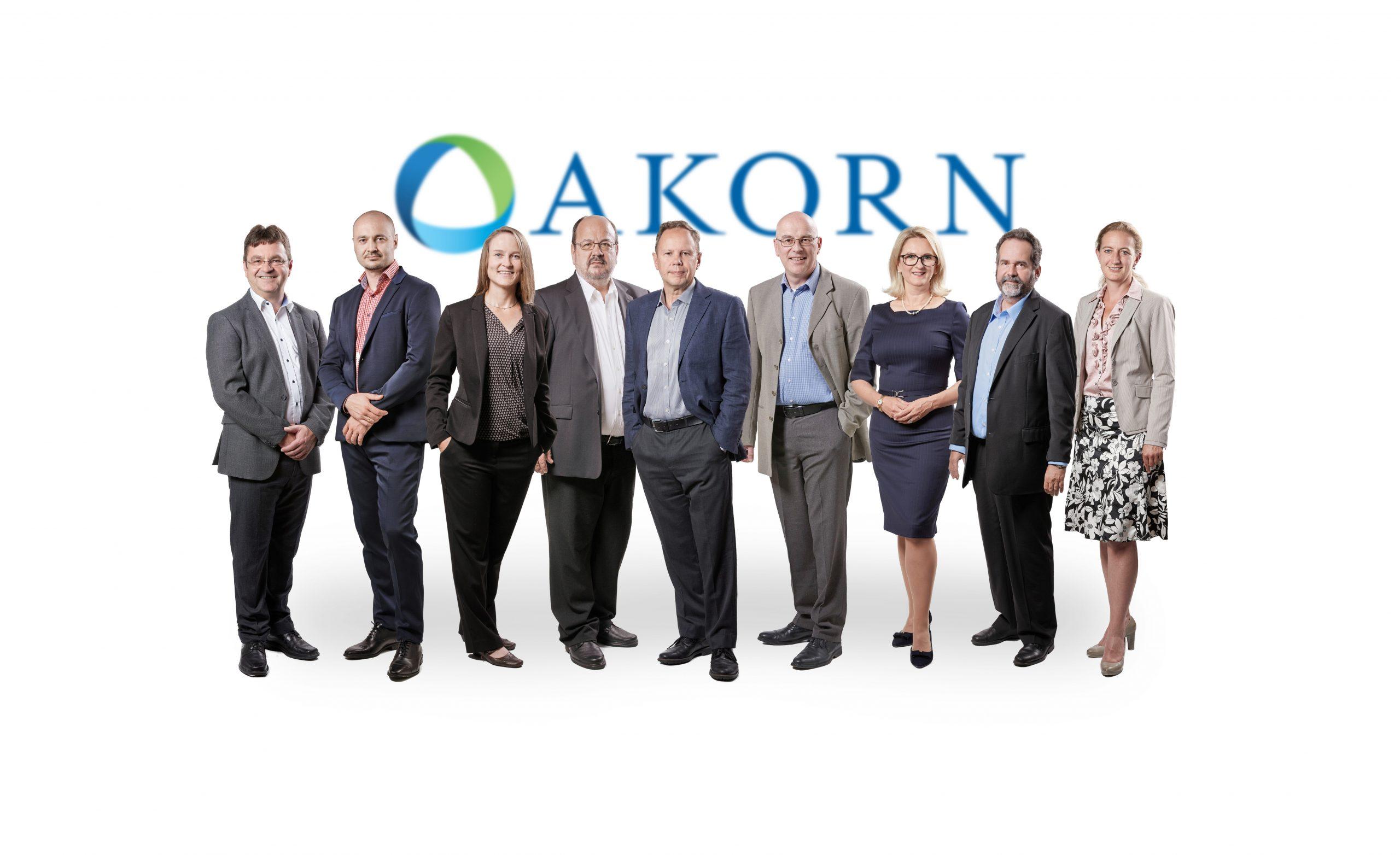 Geschäftsleitung Akorn August 2020